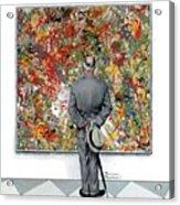 Art Connoisseur Acrylic Print