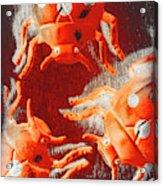 Art Deco Bug Acrylic Print