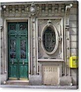 Art Deco Doorway Acrylic Print