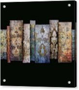 Art Panels - Antique Wallpaper  Acrylic Print