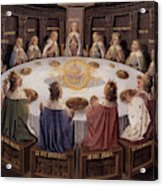 Arthurian Legend, The Knights Of The Round Table Acrylic Print