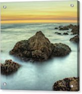 Asilomar Sunset Acrylic Print