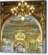At Le Train Bleu Acrylic Print