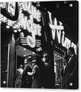 At The Blue Note Cafe Acrylic Print