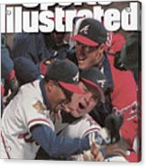 Atlanta Braves, 1995 World Series Sports Illustrated Cover Acrylic Print
