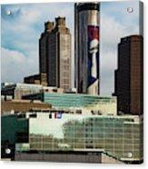 Atlanta Skyline 3 Acrylic Print