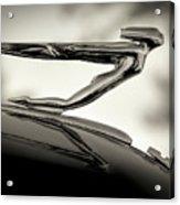 1936 Auburn 851 Sc Boattail Speedsterdster Hood Ornament Acrylic Print