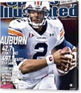 Auburn University Vs University Of South Carolina, 2010 Sec Sports Illustrated Cover Acrylic Print