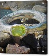 August Ring Acrylic Print