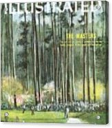 Augusta National Golf Course, 1960 Masters Preview Sports Illustrated Cover Acrylic Print
