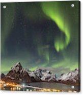 Aurora In Lofoten Acrylic Print