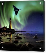 Auroral Splendour For The Vulcan Acrylic Print