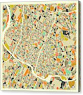 Austin Map 1 Acrylic Print