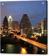 Austin Texas Skyline - Unique Acrylic Print