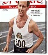 Australia John Landy, 1954 British Empire And Commonwealth Sports Illustrated Cover Acrylic Print