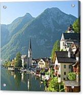 Austria, Salzburger Land, Hallstatt Acrylic Print