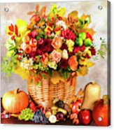 Autum Harvest Acrylic Print