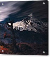 Autumn & Mount Damavand Acrylic Print