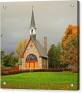 Autumn At Grand Pre Acrylic Print