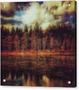 Autumn At The Lake  Acrylic Print
