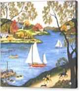 Autumn Holiday Acrylic Print