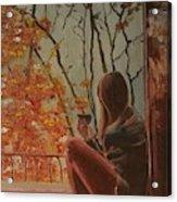 Autumn In Paris Acrylic Print