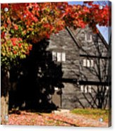 Autumn In Salem Acrylic Print