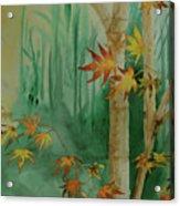 Autumn Leaves - #1 Acrylic Print