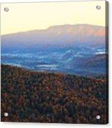 Autumn Mountains  Acrylic Print