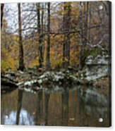 Autumn On The Kings River Acrylic Print