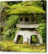 Autumn, Pagoda, Japanese Garden Acrylic Print