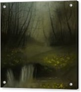 Autumn Twilight Acrylic Print