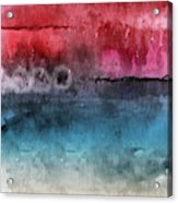 Awakened 4-  Abstract Art By Linda Woods Acrylic Print