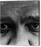 Babe Ruth Eyes Acrylic Print