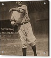 Babe Ruth Special Tour Postcard Acrylic Print