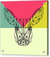 Baby Deer Polygon  Acrylic Print
