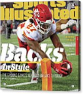Backs In Style The Ground Games Next Gen Breaks Through Sports Illustrated Cover Acrylic Print
