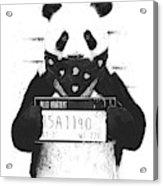 Bad Panda Acrylic Print