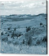 Badlands Cloud Shadows Acrylic Print