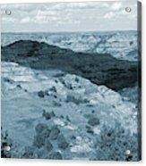 Badlands Shadow Grandeur Acrylic Print