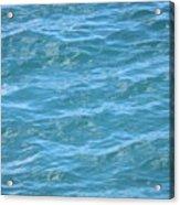 Bahamas Blue Acrylic Print