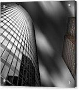Bahn Tower And Kollhoff-tower Acrylic Print