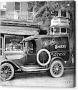 Bakery Car, C1915 Acrylic Print