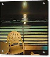 Balcony On The Pacific Oceanside California  Acrylic Print