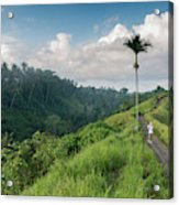 Bali Pathway Acrylic Print