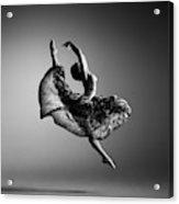 Ballerina Jumping Acrylic Print