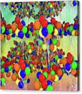 Balloons Everywhere Acrylic Print