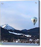 Balloons Over Tegernsee Acrylic Print