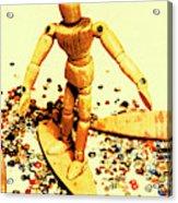 Balsa Boarder 1970 Acrylic Print