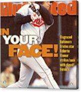 Baltimore Orioles Roberto Alomar, 1996 American League Sports Illustrated Cover Acrylic Print